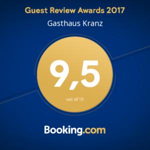 Award - Gasthaus Kranz Lausheim