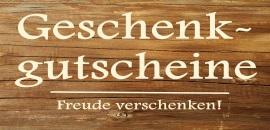 Geschenkgutscheine Gasthaus Kranz, Lausheim