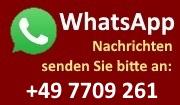 WhatsApp - Nachrichten ans Gasthaus Kranz